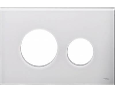 Лицевая панель TECEloop modular 9240671, стекло белое EMCO
