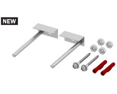 Комплект крепления для инсталляций Tece TECEprofil 9 380 300 для монтажа к стене