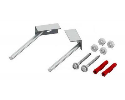 Комплект крепления для инсталляций Tece TECEprofil 9 380 301 для монтажа в углу