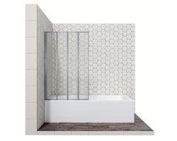 Душевая шторка со складывающимися во внутрь дверями Ambassador Bath Screens 16041110L, 90 см