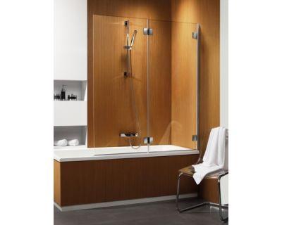 Душевая шторка на ванну Radaway Carena PND/R 130 коричневое стекло 202201-108R