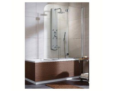 Стеклянная шторка на ванну Radaway Eos PND 130 R 205202-101R