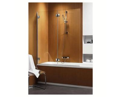 Душевая шторка на ванну Radaway Carena PND/L 130 коричневое стекло 202201-108L