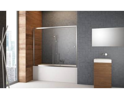 Душевая шторка на ванну Radaway Vesta DWJ 150 209115-01-01 прозрачное стекло