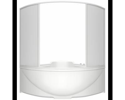 Душевая шторка на ванну BAS Good Door Ирис 150х150
