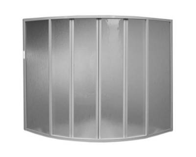 Душевая шторка на ванну BAS Good Door Риола 135х135 полистирол