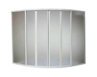 Душевая шторка на ванну BAS Good Door Хатива 145х145 полистирол