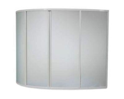 Душевая шторка на ванну BAS Good Door Алегра 150х145 пластик