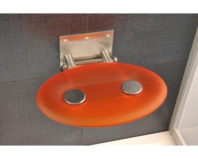 Cиденье для душа Ravak Ovo-P оранжевое B8F0000005