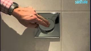 Geberit - Hy-touch - Urinoir bedieningsset samba pneumatisch