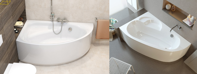 как выбрать ванну - акриловые ванны