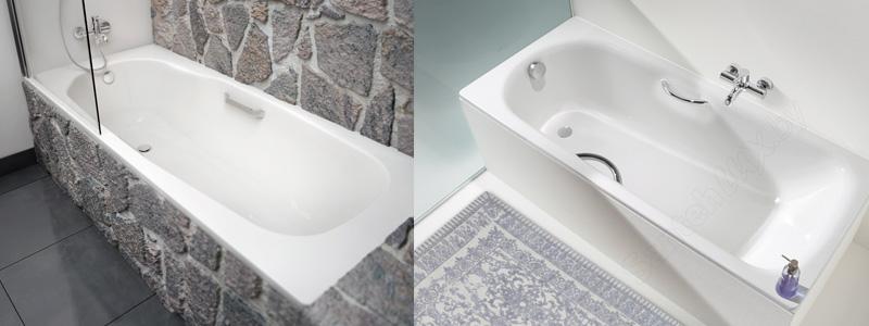 как выбрать ванну - стальные ванны